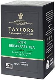 Taylors of Harrogate 愛爾蘭早餐,50 茶包(6 包)