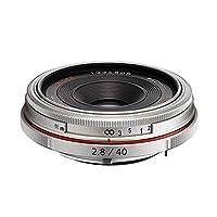 Pentax 宾得 HD PENTAX-DA 40mmF2.8 Limited SILVER W/C 防水镜头(银色)
