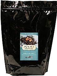 Numi Organic Tea 陈年伯爵茶,16盎司/453.6克袋装,散叶红茶(包装可能会有所不同)