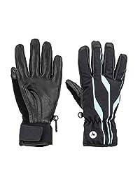 Marmot 女士弹簧手套 中 黑色 14860-001-001-Medium