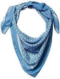 Calvin Klein 女士链条印花雪纺涤纶方巾