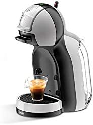 Krups 克魯伯 KP123B Nescafé Dolce Gusto Mini Me 膠囊咖啡機,1500 瓦,灰色/黑色