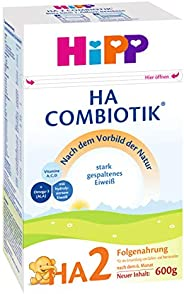 Hipp 喜宝 HA Combiotik 婴儿奶粉 2段(适用于6月以上婴儿),4盒装(4 x 600g)