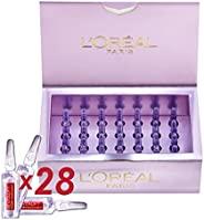 L'Oréal Paris 巴黎欧莱雅 Revitalift Filler 玻尿酸锁龄抗皱充盈面部安瓶,4周用量,28 x 1