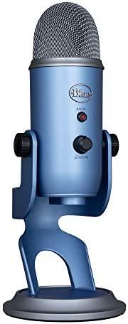Blue Yeti 专业多图案 USB 麦克风,用于录音和流媒体 - 日落天空