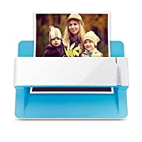Plustek 照片扫描仪 - ephoto Z300,2 秒扫描4x6 照片,自动裁剪和反光,带 CCD 传感器。 支持 Mac 和 PC ePhoto Z300