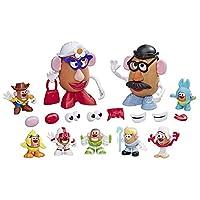 Hasbro 孩之宝 Mr Potato Head 迪斯尼/皮克斯 玩具总动员4 安迪的游戏室 马铃薯玩具包装,适合2岁以上的儿童