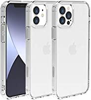 Just Mobile 2020 iPhone (6.7英寸) 透明 保护壳 [ 混合 耐冲击 防黄 透明 防尘 防止粘附痕迹 Qi充电 无线充电 iPhone 12 Pro Max 保护套 ] TENC Air JM1