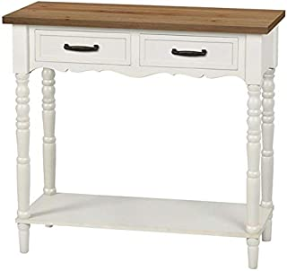 Crestview Collection FZR2513WHSNG 31.5X13X32 控制台台,1 件装,5.05' Element Furniture