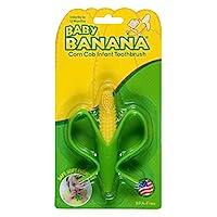 Baby Banana 玉米芯牙刷,用于婴儿,幼儿的训练牙胶牙刷