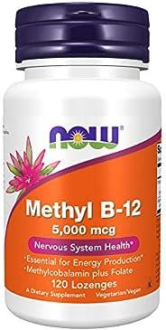 NOW Foods - 甲醇B12 5000 mcg。120锭剂