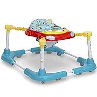 Delta Children First Steps 3 合 1 站立式搖椅/助行器/活動中心,螺旋