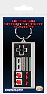 Pyramid International 任天堂 NES 控制器橡胶钥匙链,多色,4.5 x 6 厘米
