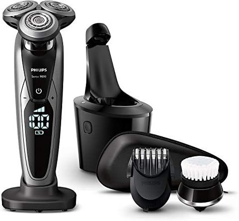 Philips 飞利浦 S9732A/33 干湿两用电动剃须刀 带清洁桶+洁面刷 ¥980.94