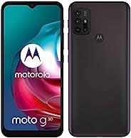 Moto G30 (128GB, 6GB) 6.5 英寸双 SIM GSM 无锁 4G LTE,国际型号 XT2129-2(深珍珠)