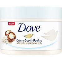 Dove 多芬 Dusch-Peeling 奶油淋浴磨砂膏,含有米浆夏威夷果,4件装(4 x 225ml)