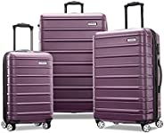 Samsonite 新秀丽 Omni 2 硬壳可扩展行李箱,带万向轮 紫色 3-Piece Set (20/24/28)