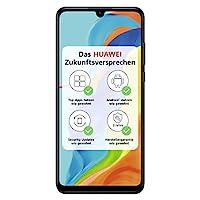 HUAWEI P30 lite NEW EDITION Smartphone Bundle (15.6cm (6.15 Zoll) 256GB interner Speicher, 6GB RAM, Dual SIM, Android, EMUI 9.0.1) Midnight Black + 16GB SD Karte [Exklusiv bei Amazon]