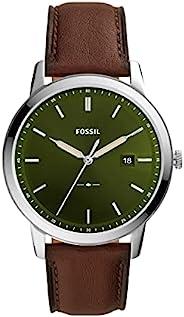 Fossil 手表 THE MINIMALIST SOLAR FS5838 男士 棕色
