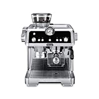 De'Longhi La Specialista Espresso Machine with Sensor Grinder, Dual Heating System, Advanced Latte System & Hot Water Spout for Americano Coffee or Tea, Stainless Steel, EC9335M (需配變壓器)