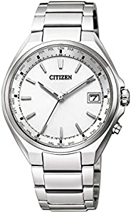 CITIZEN西铁城 腕表 Atessa Eco-Drive 光动能驱动 电波腕表 世界时间 Direct Flight CB1120-50A 男士 银色
