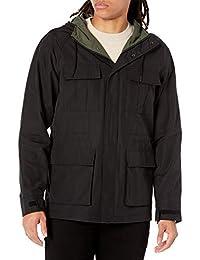 Amazon Essentials 男式标准轻质山地派克大衣夹克