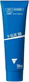 VICTAS 乒乓球 橡胶粘合剂 V-GLUE100 100 毫升 041250