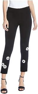 Karen Kane Piper Daisy 九分裤,尺码 XL - 黑色