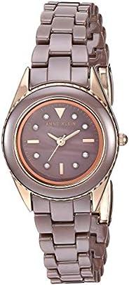 Anne Klein 安妮克莱因 女式施华洛世奇水晶点缀陶瓷手链手表