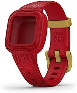 Garmin Vivofit Jr 3 配件腕带,Marvel 钢铁侠,(010-12666-41)