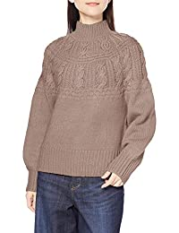 NATURAL BEAUTY BASIC 毛衣 女士 摩卡米色 M