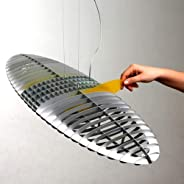 LucePlan Titania 吊灯,铝合金,压簧,颜色过滤器,包括