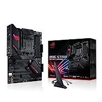 ASUS 华硕 ROG Strix B550-F 游戏(Wi-Fi)主板插槽 AM4(ATX,Ryzen,PCIe 4.0,WiFi6,Intel 2.5 Gb/秒以太网,2x M.2带冷却器,SATA 6Gbps,USB 3.2 Gen 2,Aura Sync)