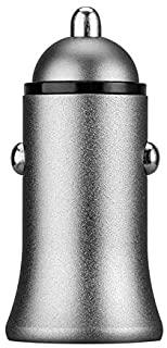 Shot Case 双 USB 适配器,适用于汽车,灰色