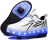 BFOEL Spider Roller 溜冰鞋 带轮子 USB 充电 男童女童儿童生日感恩节圣诞节*佳礼物