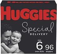 低*性婴儿纸尿裤尺寸 6,96 克拉,Huggies *配送