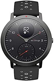 Withings Steel HR Sport-Multisport多功能智能手表,连接GPS,心率,通过VO2 Max监测体能状况,活动和睡眠追踪和通知