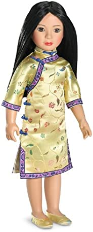 Carpatina Dolls Ana Ming 亚洲 18 英寸乙烯塑料纤薄娃娃
