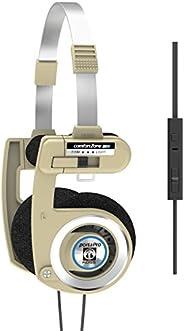 Koss Porta Pro 限量版 Rhythm 米色耳机麦克风,音量控制遥控