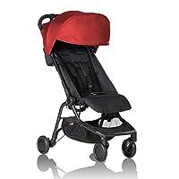 Mountain buggy nano V2 旅行嬰兒推車 紅色