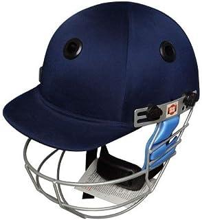 SS Cricket Gutsy 板球头盔 - 男式(蓝色和黑色)- L 码