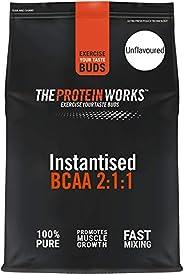 The Protein Works 即化BCAA(支链氨基酸)粉末,比例为2:1:1,无味,500克