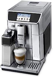 De'Longhi 德龙 Primadonna Elite Experience ECAM 656.85.MS独立式全自动意式浓缩咖啡机 黑色,金属–咖啡(独立式意式浓缩咖啡机,黑色,金属,杯子,不锈钢,传感器)