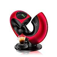 De'Longhi 德龙 NESCAFÉ Dolce Gusto Eclipse 胶囊咖啡机 EDG736.RM F,可制备冷热饮,15bar泵压,可制备香柔奶沫,触屏传感,金属红色