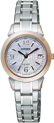 CITIZEN西铁城 腕表 EXCEED Eco-Drive 光动能驱动 电波腕表 搭载Perfex 情侣款 EBD75-5072 女士