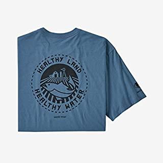 Patagonia 男士 M's Safeguard Stencil World Trout *T恤 内衣