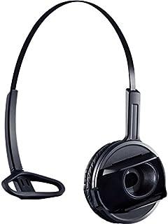 Sennheiser 森海塞尔 SHS 06 – 头戴式耳机 – 黑色 – 适用于Sennheiser D 10,D 10 HS,D 10 USB,D 10 USB ML