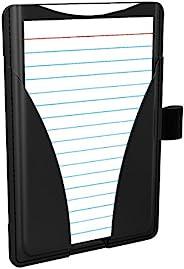 Oxford At-Hand 便条卡包,3 x 5 英寸(约 7.6 x 12.7 厘米),黑色,包括 25 张横行索引卡(63519)