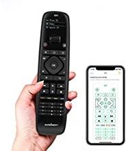 Sofabaton 通用遥控器,适用于智能家居和娱乐设备,超过 6000 个品牌,支持多达 15 个蓝牙和红外设备,Harmony Remote with APP 控制,OLED 显示屏,一键按钮