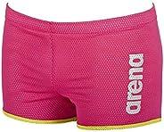 Arena 阿瑞娜 中性 訓練游泳褲 方形剪裁(減少水中阻力,網狀織物,耐氯)